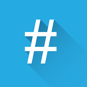 hashtag ou mot-dièse