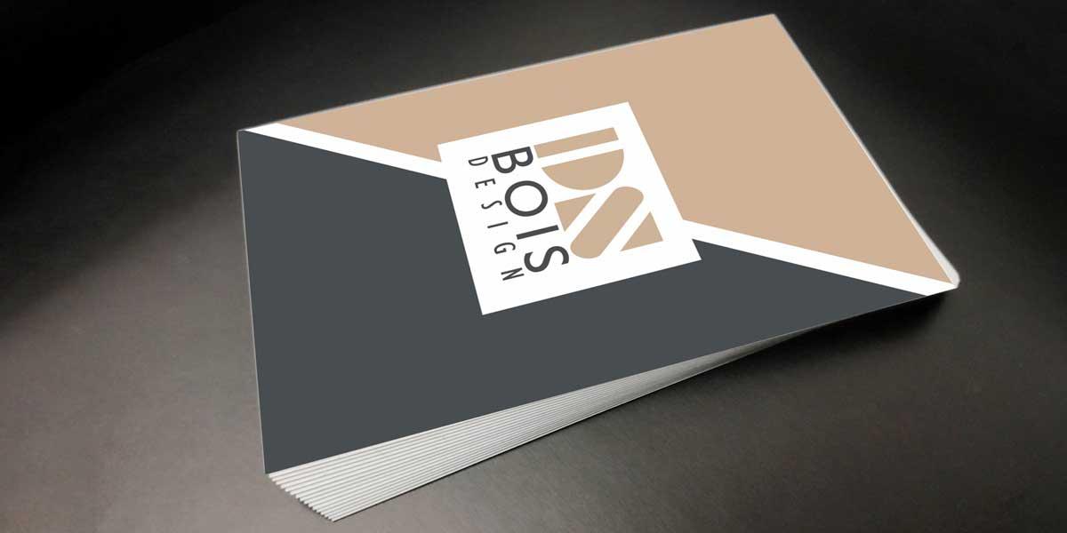 Création de logo, carte de visite et identité visuelle