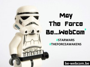 Star Wars le réveil de la force - may the force Be-WebCom