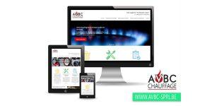 Création de Site Web pour chauffagiste à Nivelles